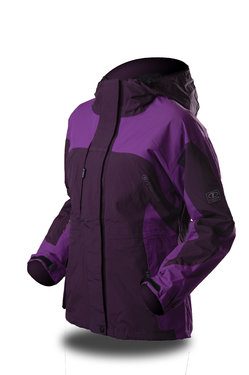 Alpine lady II dark purple purple front