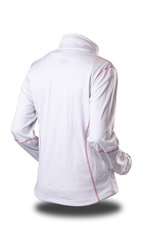 Bunda Trimm GAZEL white/ rose