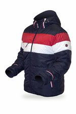 Bunda Trimm WILSON navy/white/red